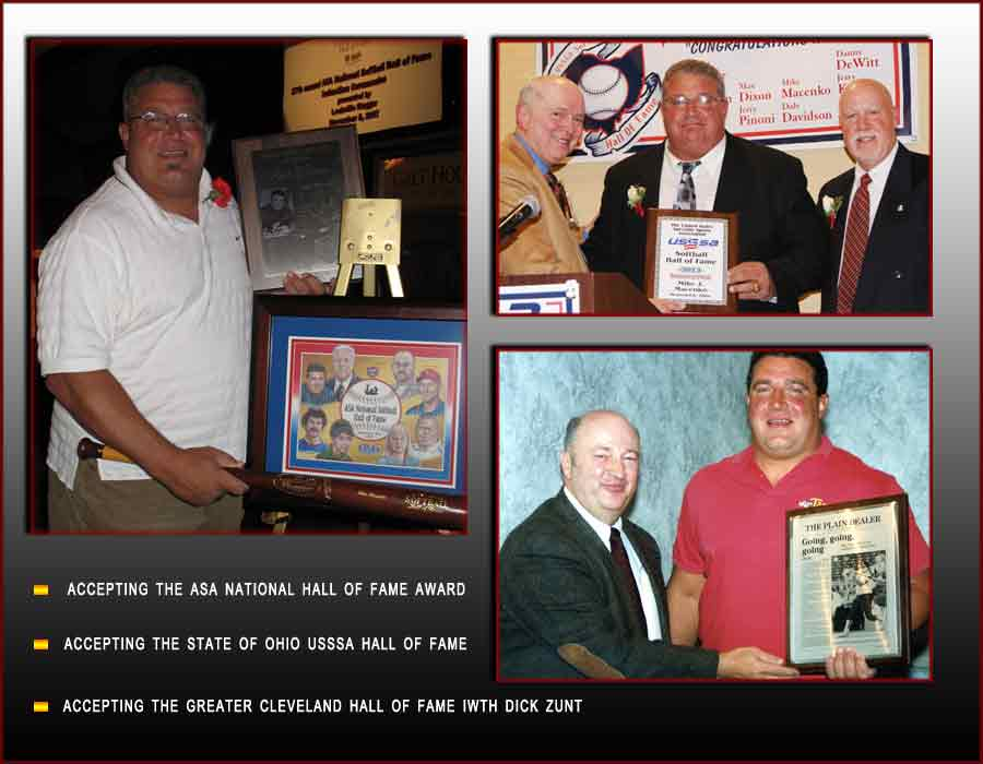 Mike's Records and Awards